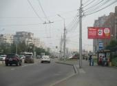 "Кравченко, 8, после ост. ""Кравченко"" у поворота во двор, в сторону Копылова (сторона А)"